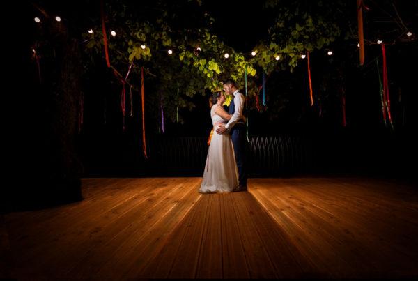 photo de couple en soirée