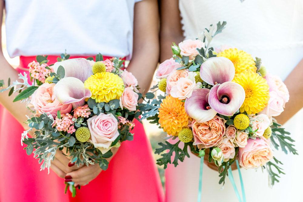 Bouquet des demoiselles d'honneur