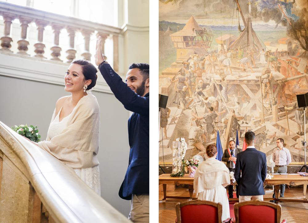 mariage civil au capitole