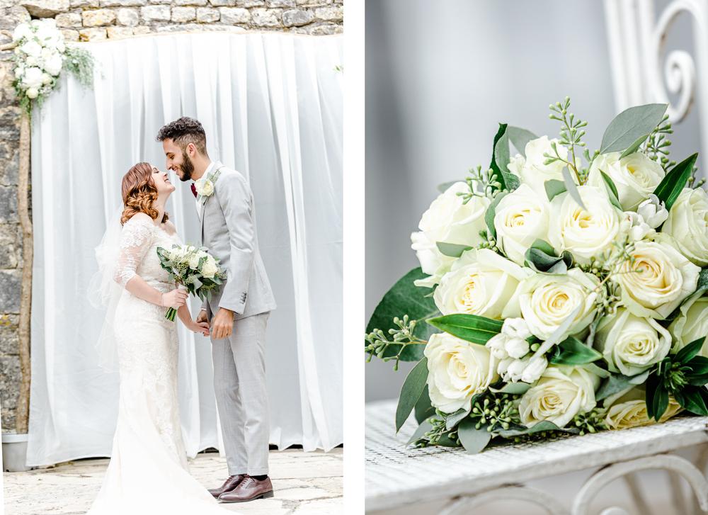 cérémonie laique et bouquet