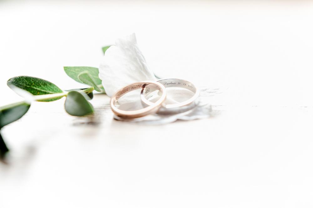 Détails des alliances mariage