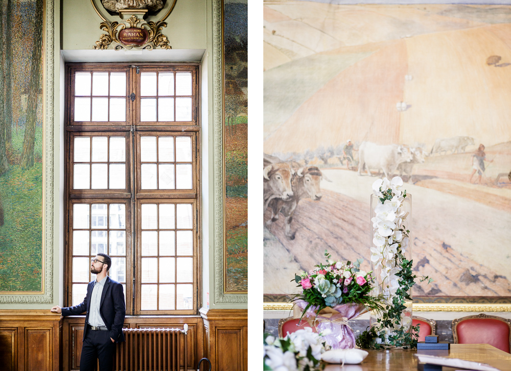 Mairie du capitole et ses peintures