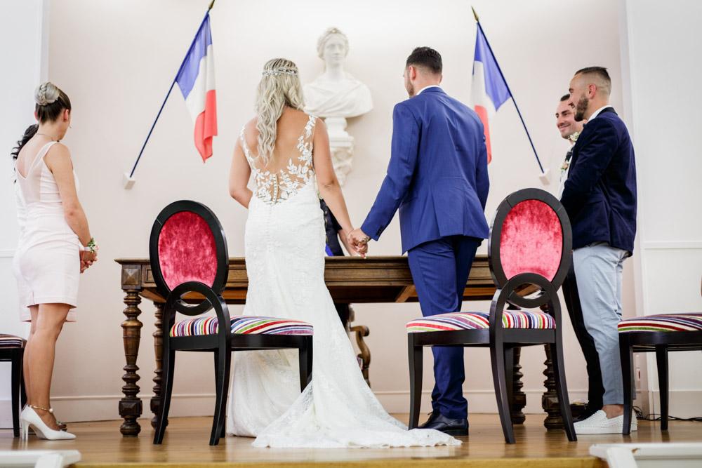 Mariage à la mairie de Montauban