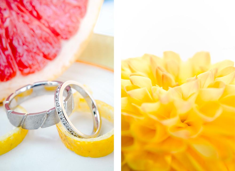 Alliances sur zestes de citron