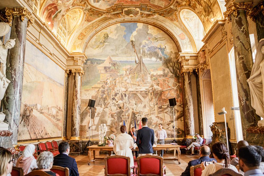Mariage civil à la mairie du Capitole