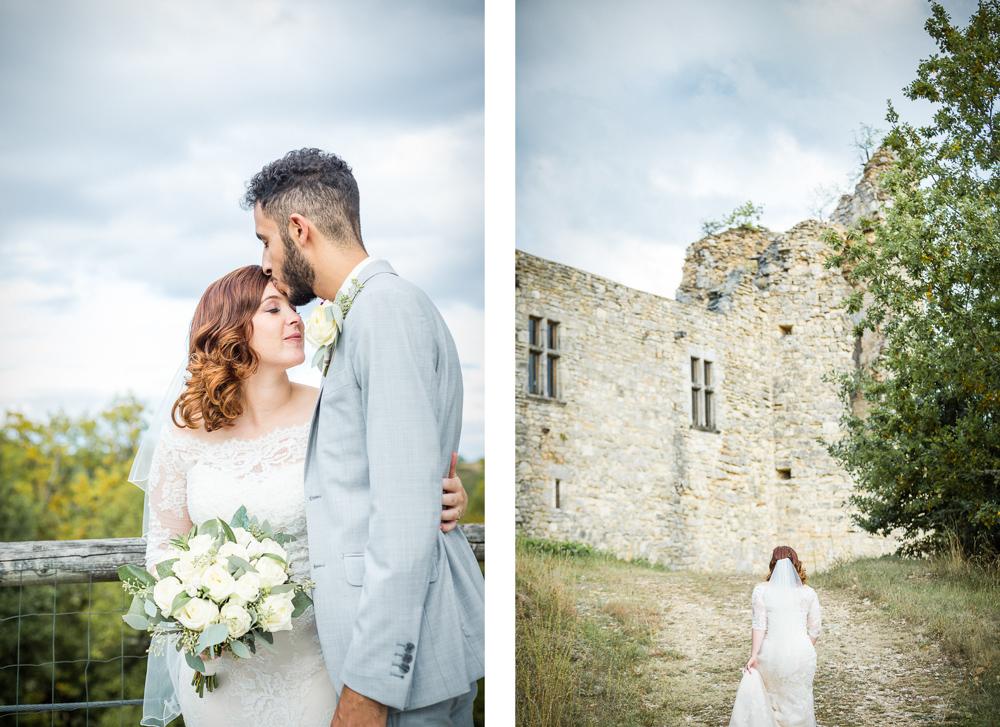séance couple au château de Roussillon