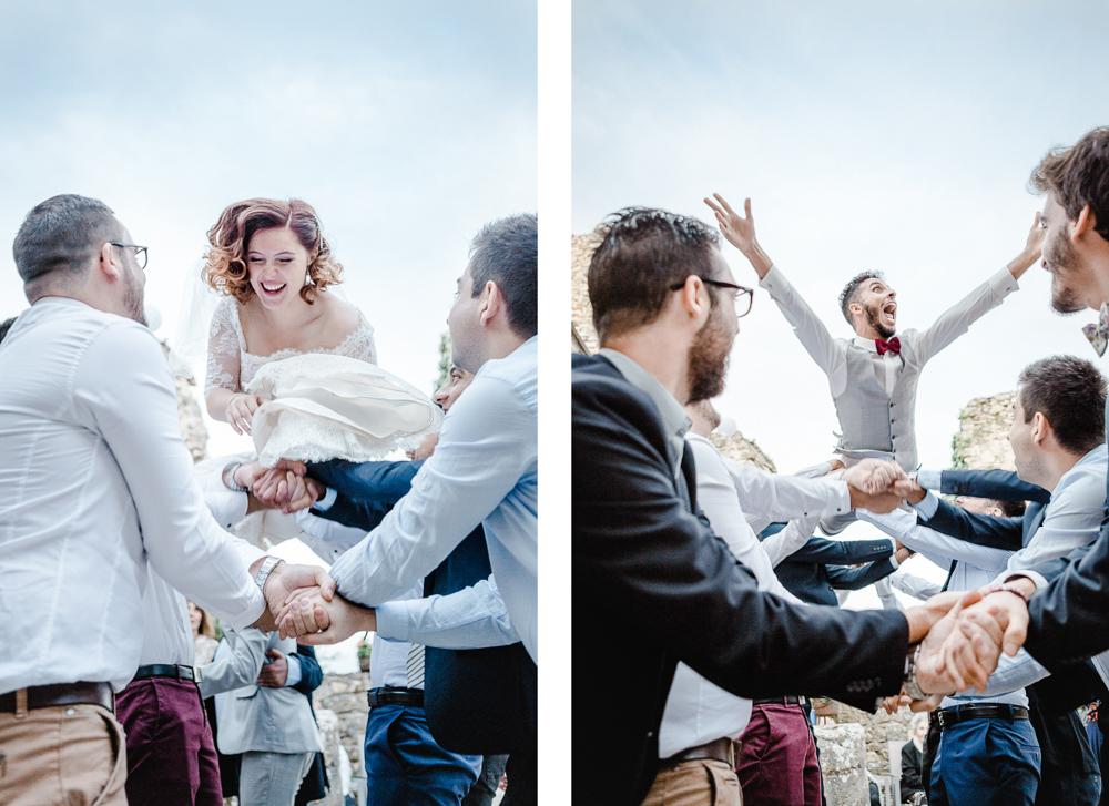 l'envolée des mariés